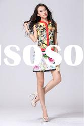 2012 Hot selling fashion summer dress.young ladies beautiful dresses