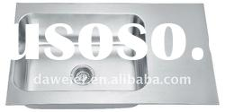 2012 (NEW!) Korea Import SUS304 Stainless Steel Single-bowl Kitchen Sink with Drainboard -XYP900-2