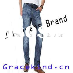 2012 New Fashion Denim Mens Jeans Pants Straight,Cheap Jeans Ripped