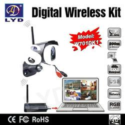 2012 New Network Remote Monitoring Wireless Wifi Security Camera System