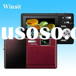 2012 New hot sale mini cheap digital camera, 12.0 Mega pixel