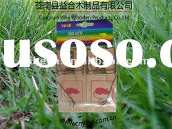 2012 best sell wooden mouse trap