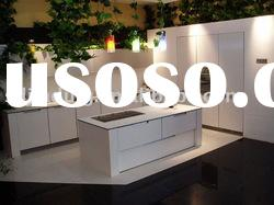 2012 high gloss white lacquer kitchen cabinet KL-020