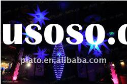 2012 hot inflatable led light decoration star
