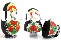 2012 hot !! new style robot usb drive / robot girl