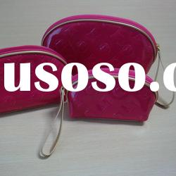2012 hot sale designer high quality fashion promotion cosmetic bag