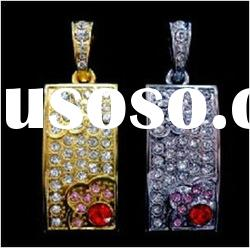2012 hot selling golden and silver color USB FLASH DRIVE
