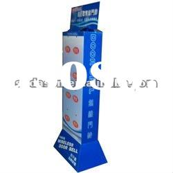 2012 new paper display stand with hooks