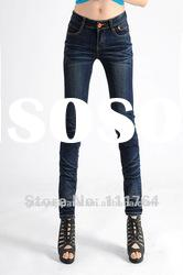 2012 new style fashion jeans for women& top quality jeans