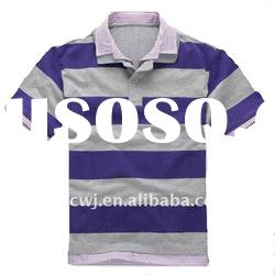 2012 new style purple cotton polo shirts for men