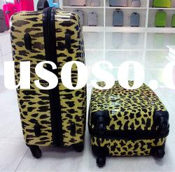2012 new technology, PP zipper Luggage trolley with PC film, HOT selling items