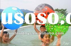 2012 newly PVC inflatable water ball toy