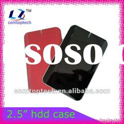 "2.5"" external hard disk enclosure/portable hard drive case/external hdd enclosure/hdd case"