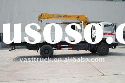 3-6.3ton Truck With Loading Crane