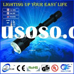 3*AA High Power Zoom CREE Aluminum Flashlight Torch