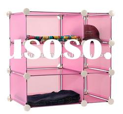 3 layers PP plastic combined storage cabinet