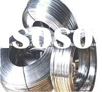 45kgs weight of high tensile strength of galvanzied oval wire