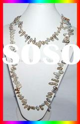 47'' Baroque Freshwater Pearl Long Necklace PN275
