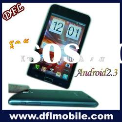 "5"" Android2.3 GPS yxtel mobile phone I9220"