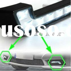 6LED DRL Daytime Running Lights Kit Lamp Fog Front Lights