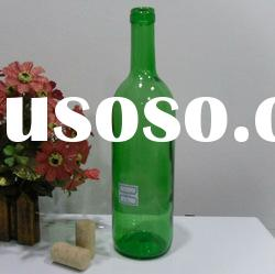 750ml Emerald Green Color Wine Glass Botttle