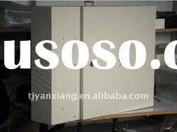 7555/ 750*150*550mm/ grey/ Wall-Mounted Cabinet with Heat Exchanger/ outdoor distribution box ip55