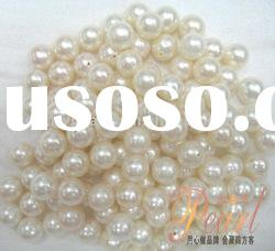 8-9mm perfect round freshwater loose pearl