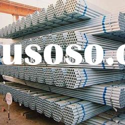 ASTMA53/Q235 ERW welded hot dipped GI steel tube/pipe