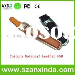 AXD-UL02 usb flash memory with leather cover