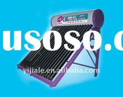 All Glass Vacuum Tube Compact Non-pressurized Solar Water Heater solar energy product