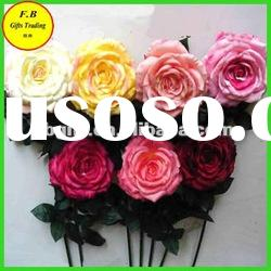 Artificial Single Branch Rose Flower (FB-F1229)