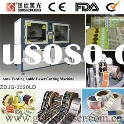 Auto Feeding Laser Cutter Machine for Roll Label