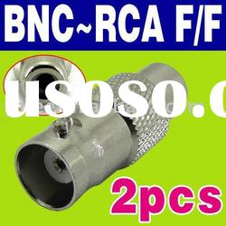 BNC-RCA BNC To RCA Female Jack O-417