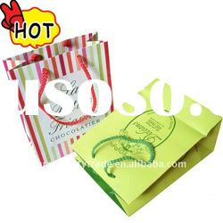 Beautiful christmas gift bags paper