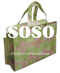 Big PP Woven Shopper Bag With Zipper