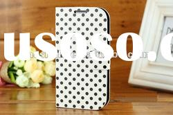 Brand new for Galaxy s3 i9300 Spots wallet leather case
