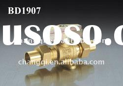 Brass Gas Ball Valve(Adjustable Mouth End)