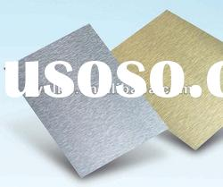 Brush Surface Composite sheets PVDF/PE Aluminium composite material /panels ACP