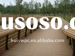 CHEAP-WOOD COMPOSITE DECKING (ANTI-UV,CE)