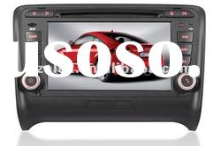 Car DVD Player with audi multimedia player DVD GPS Touch screen fixed panel and Built-in GPS