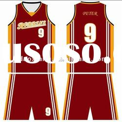 Cooldry basketball uniform reversible basketball uniform