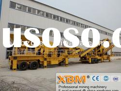 Crawler mobile crusher (mobile cone crusher)with reasonable price[factory direct sale]
