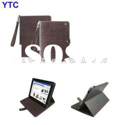 Crocodile Stand battery Leather Case with battery For The New iPad 3 3rd 2012 Version