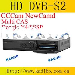 DVB S2 network sharing receiver with CCCam NewCamd extend Mgcamd Dongle support