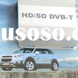 DVB-T set top box for car TV