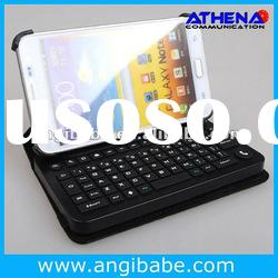 Detachable Bluetooth Wireless Keyboard Leather Case for Sumsung Galaxy Note