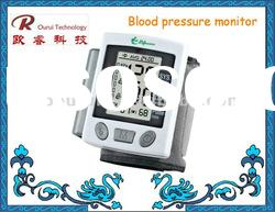 Digital wrist watch blood pressure monitor bp apparatus