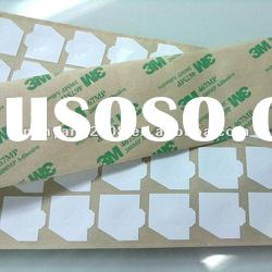 Double-sided adhesive tape with die-cutting