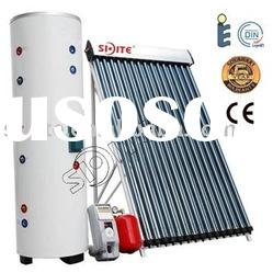Eastern Europe Home use Heat pipe Solar water heater system A001