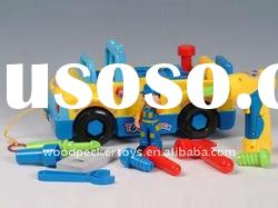Educational DIY Tool Truck with music/ learning machine plastic toy